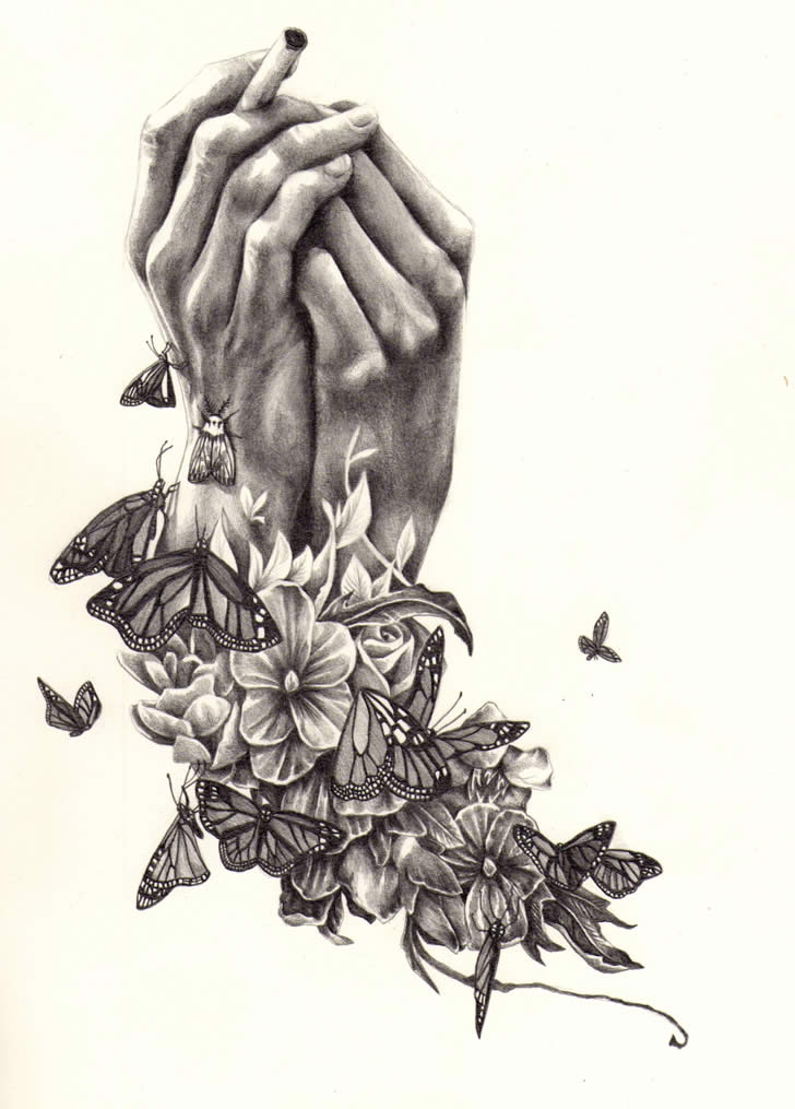 Drawing by Kate Powell (3)