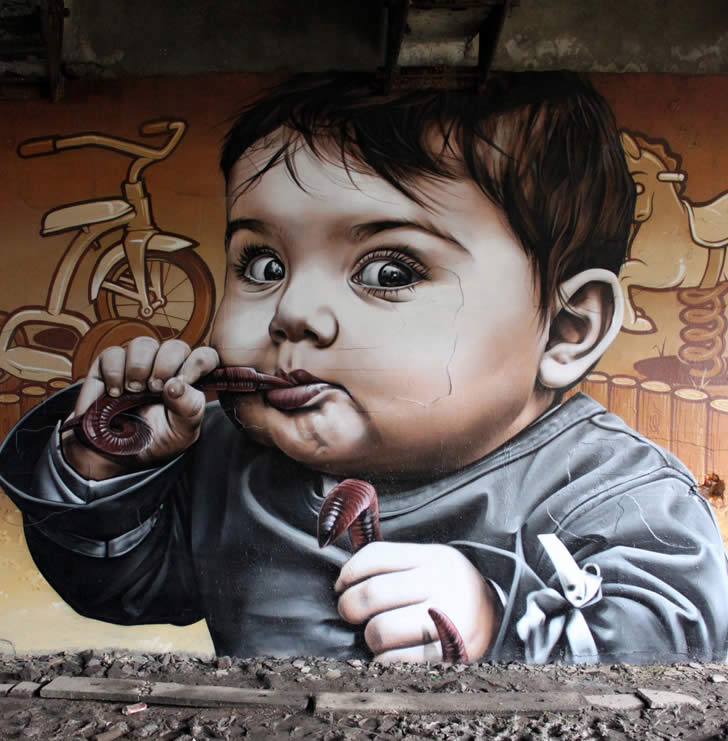 Street art by SmugOne (2)