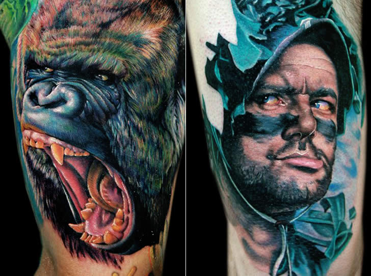 Realistic tattoo art by Cecil Porter (1)