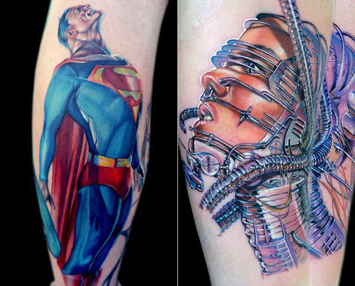 Realistic tattoo art by Cecil Porter (5)