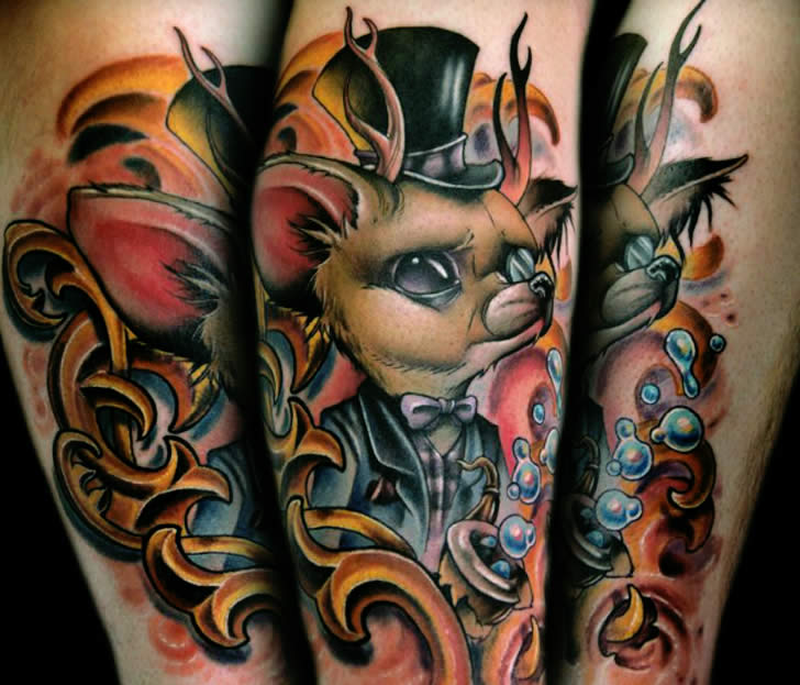 Tattoos: The Pretentious Fox