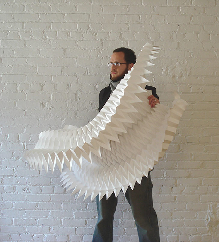 Paper art by Matthew Shlian (3)