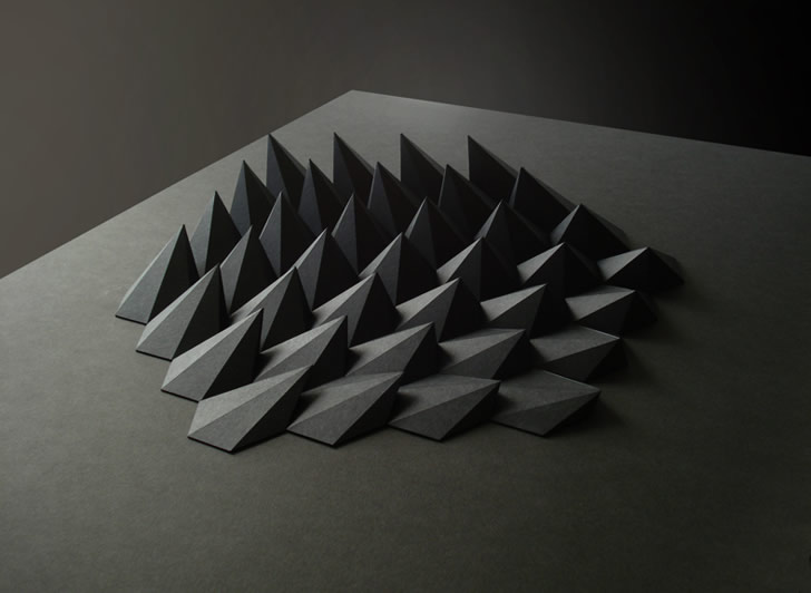 Paper art by Matthew Shlian (2)