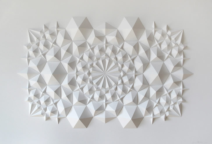 Paper art by Matthew Shlian (1)