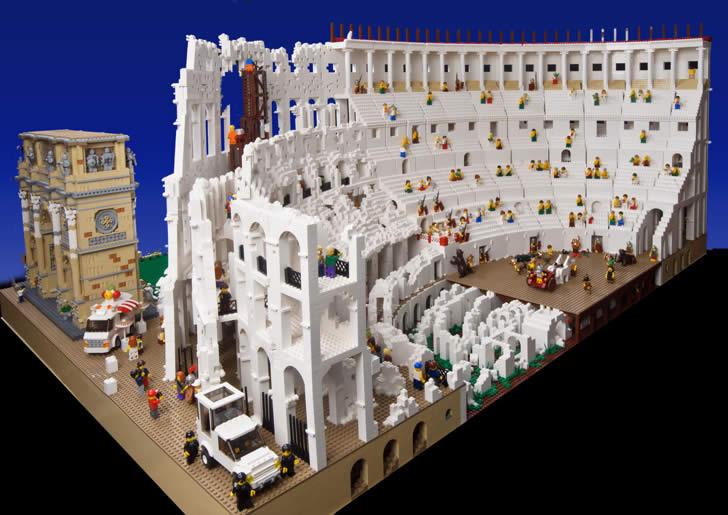 The Colosseum by Ryan The Brickman (3)
