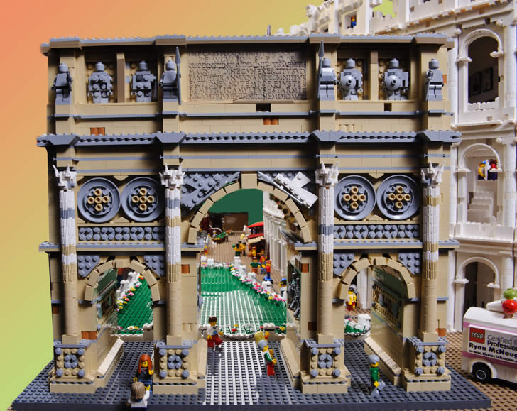 The Colosseum by Ryan The Brickman (1)