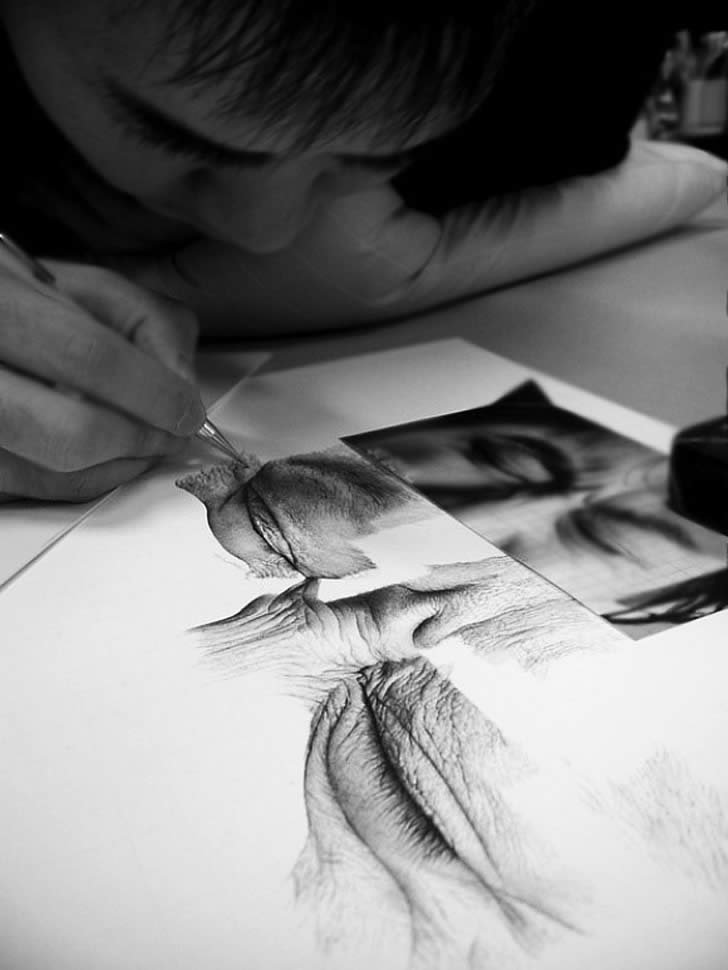 Realistic drawing by Kim Ji Hoon (3)