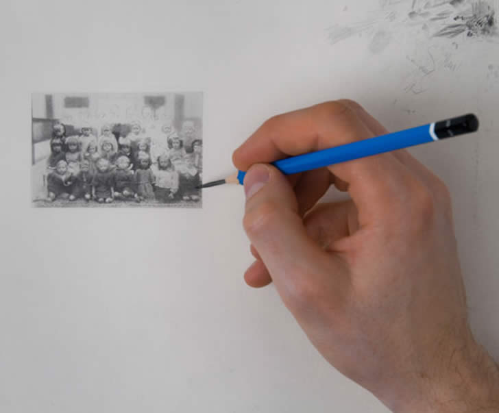 Miniature drawing by Paul Chiappe (3)