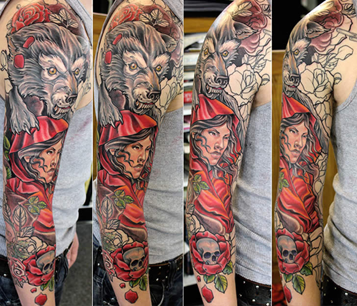 Tattoo art by Terry Ribera (3)