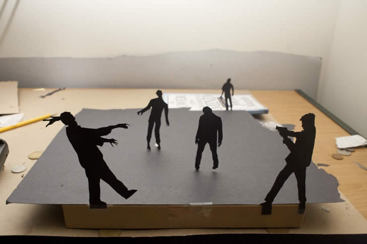 Silhouette art by David A. Reeves (4)