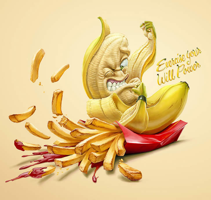 Choose to live healthy - illustration by Oscar Ramos (2)