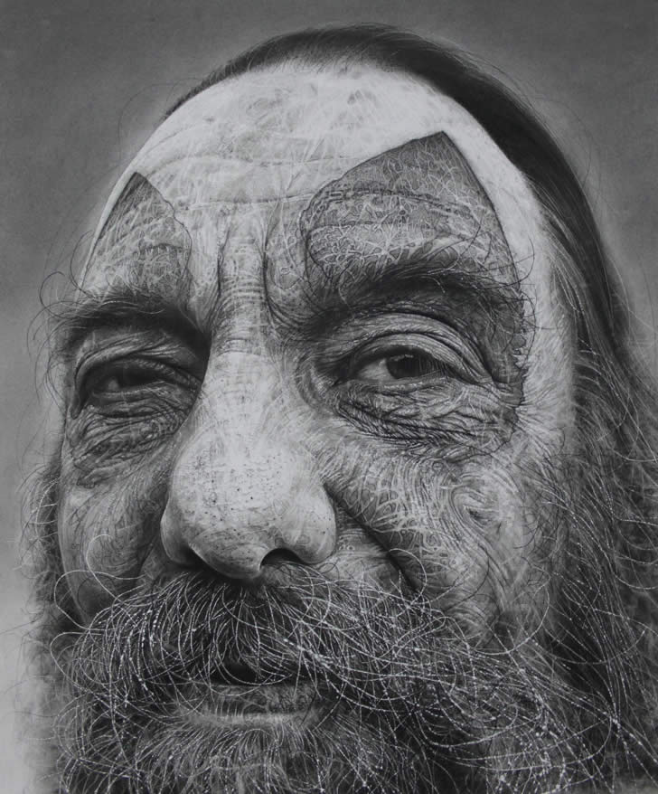 Amazing charcoal drawing by Douglas McDougall (2)