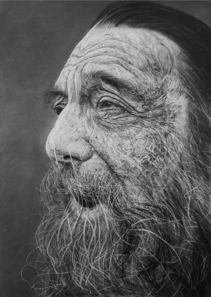 Amazing charcoal drawing by Douglas McDougall (1)