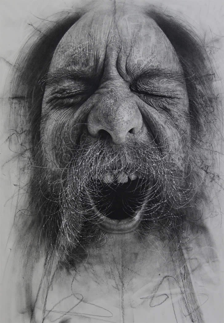 Amazing charcoal drawing by Douglas McDougall (5)