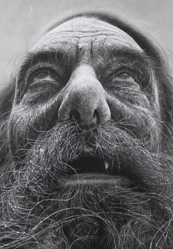 Amazing charcoal drawing by Douglas McDougall (4)