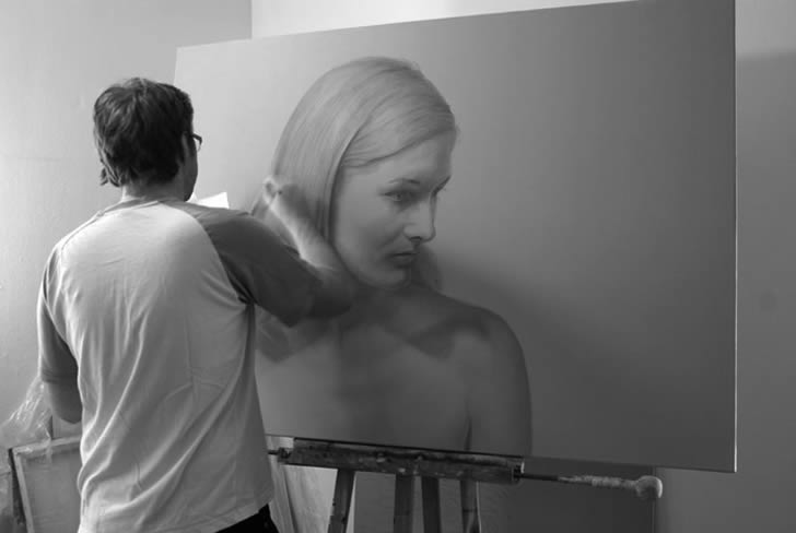 Realistic painting by Dirk Dzimirsky (2)