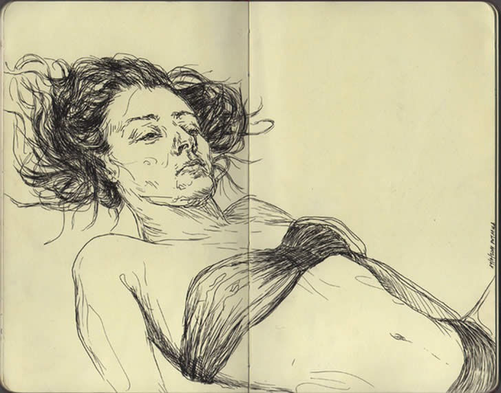 Sketchbook Drawing by Filip Peraic (1)