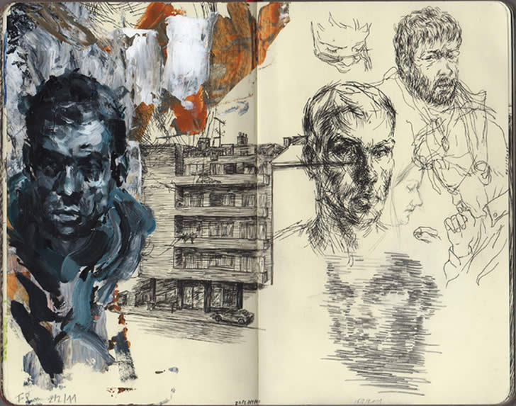 Sketchbook Drawing by Filip Peraic (5)