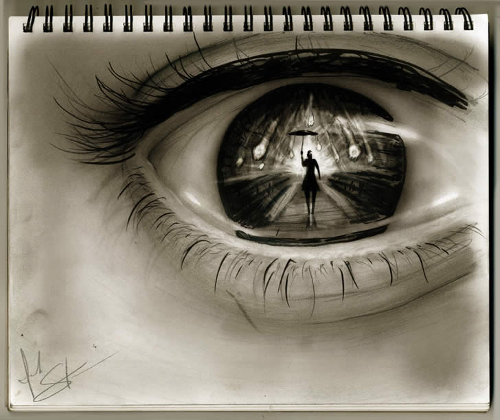 Amazing eye drawing by Isaiah Stephens (3)