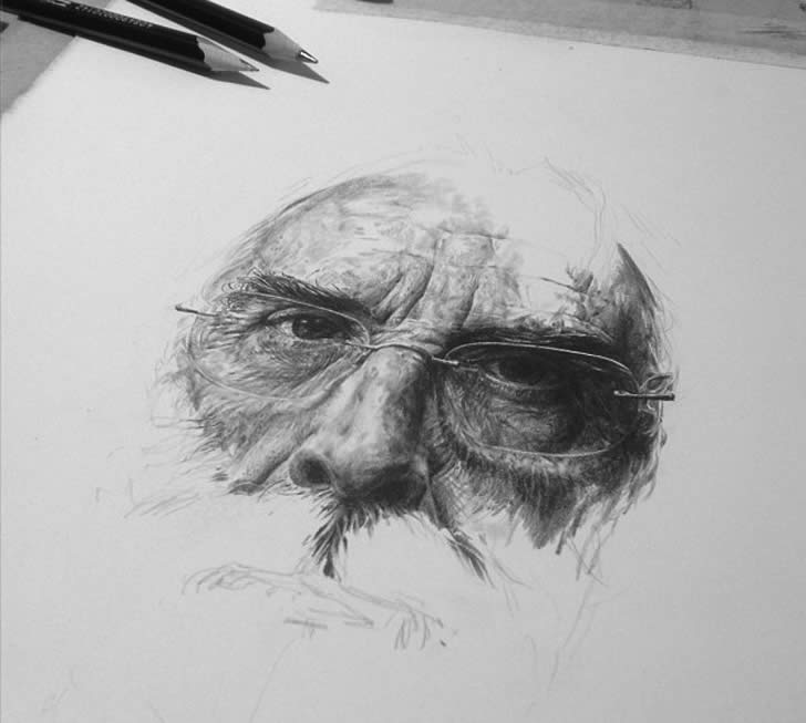 Pencil drawing by Rupert Smissen (1)