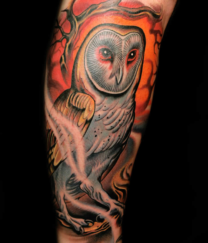 Tattoos: It is Not Harry Potter's Owl