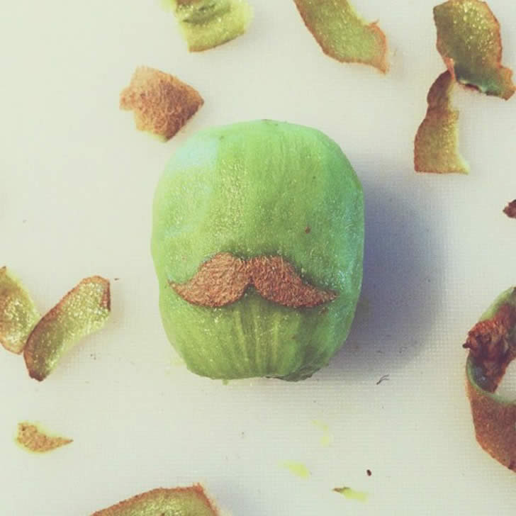 Kiwi Moustache by Brock Davis