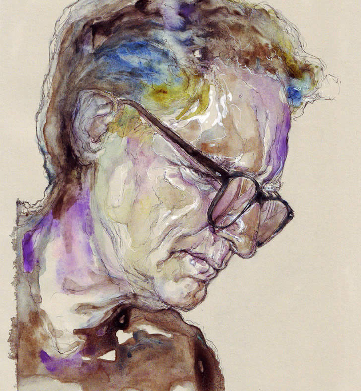 Expressive Watercolor Portraits