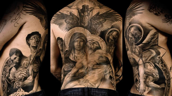 Realistic tattoo art of Nicki Norberg (1)