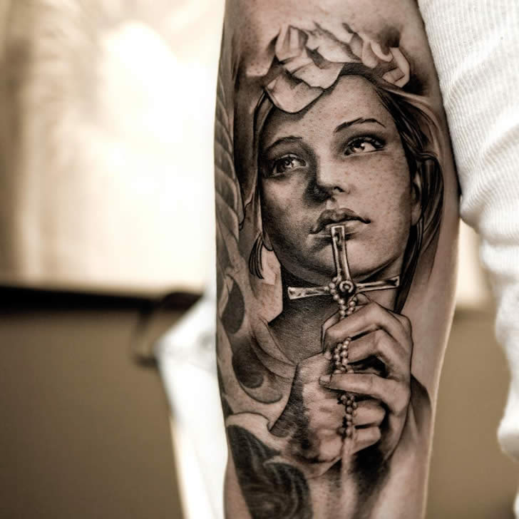 Realistic tattoo art of Nicki Norberg (5)