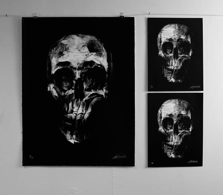 Skull Optical Illusion by Tom French (2)