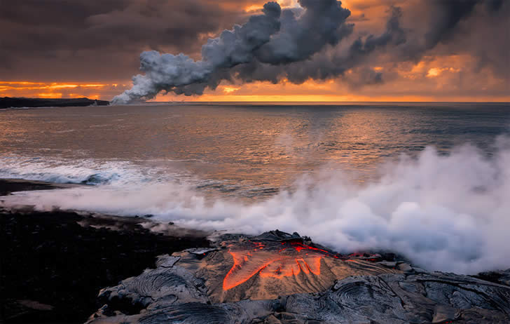 Lava photography by Tom Kualii 1