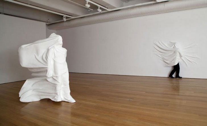Daniel Arsham's exhibition at Fabric Workshop and Museum