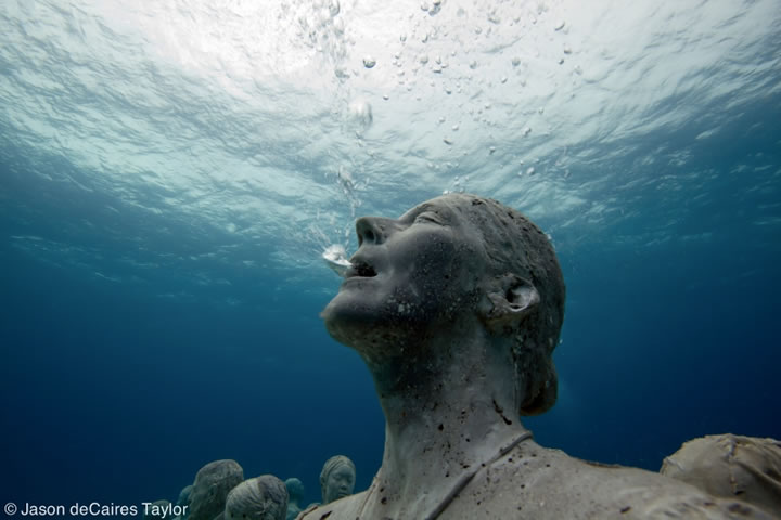Artwork by Jason deCaires Taylor
