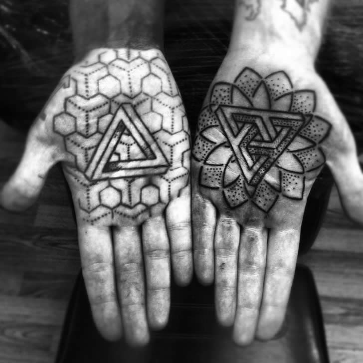 Penrose Triangle Tats and More
