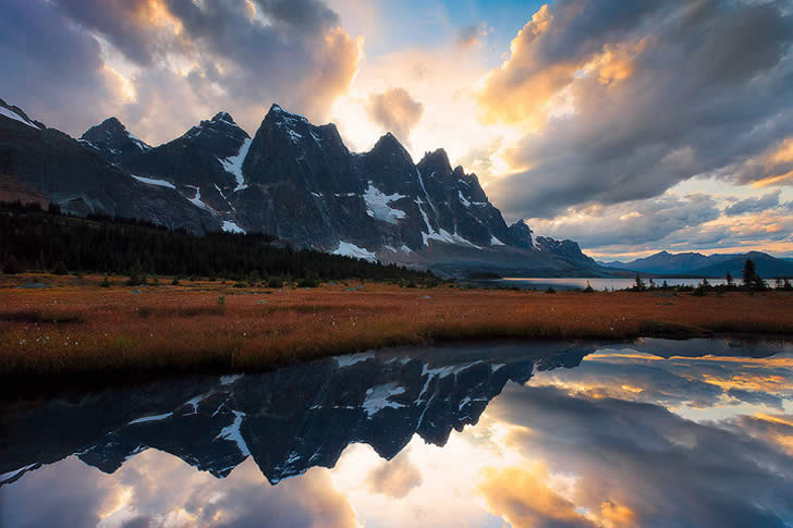 Mountain reflection photo by Kevin McNeal
