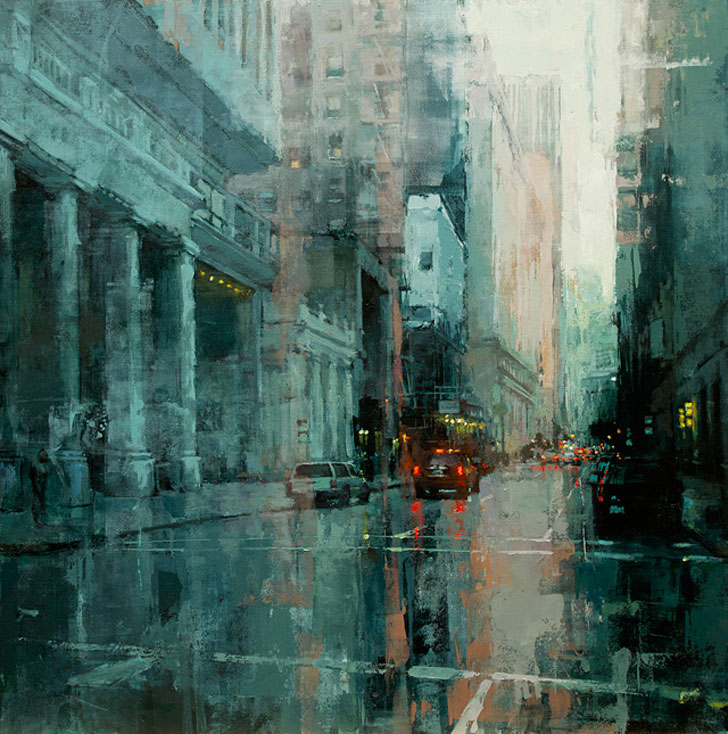 Down The Montgomery by Jeremy Mann