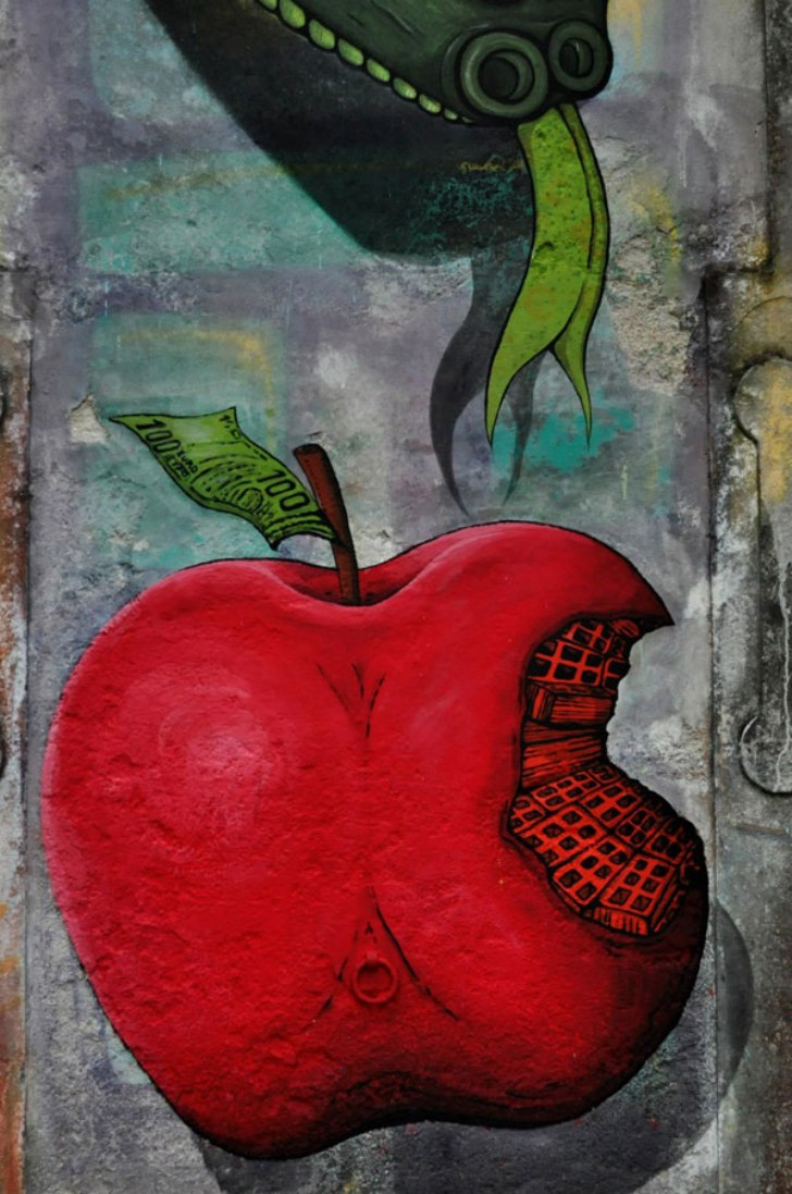 apple by artist sokram