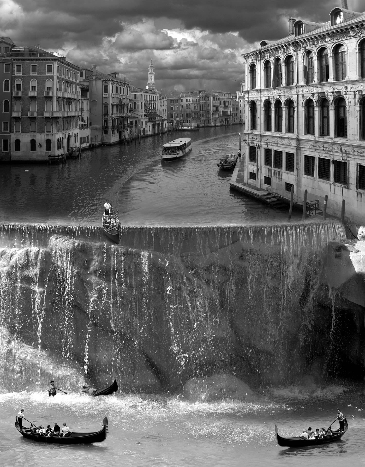 waterfall, photo thomas barbey
