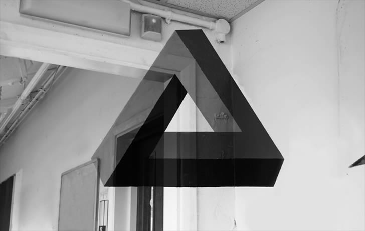 Anamorphic Impossible Triangle
