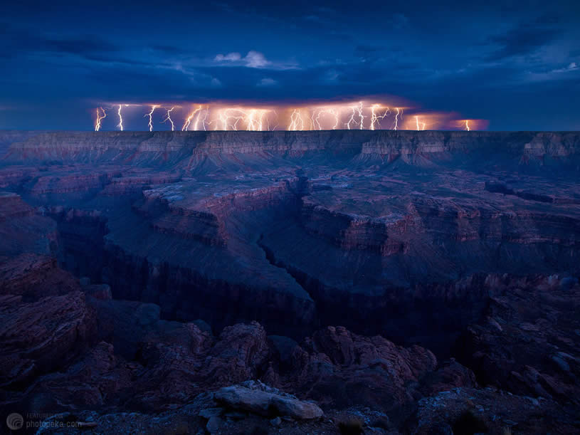 Spectacular Lightening by Dan Ransom