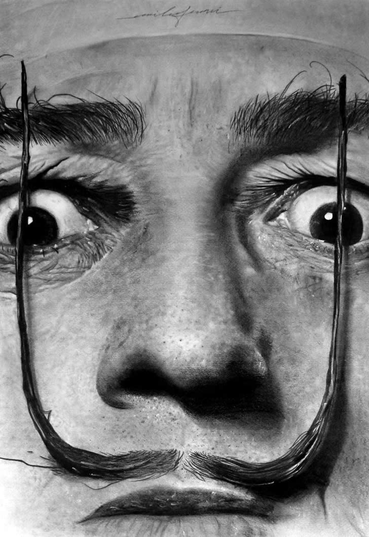 Dali drawing by Emilio Ferrari