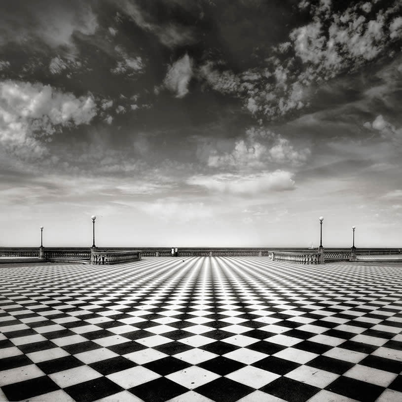 Checkered ground photo by Gavino Idili