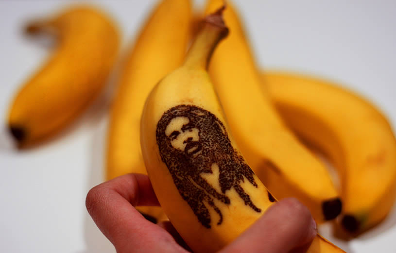 Bob Marley on Banana by Honey
