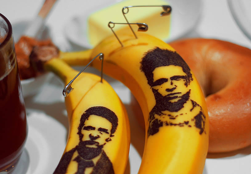 Fight Club guys on Bananas by Honey