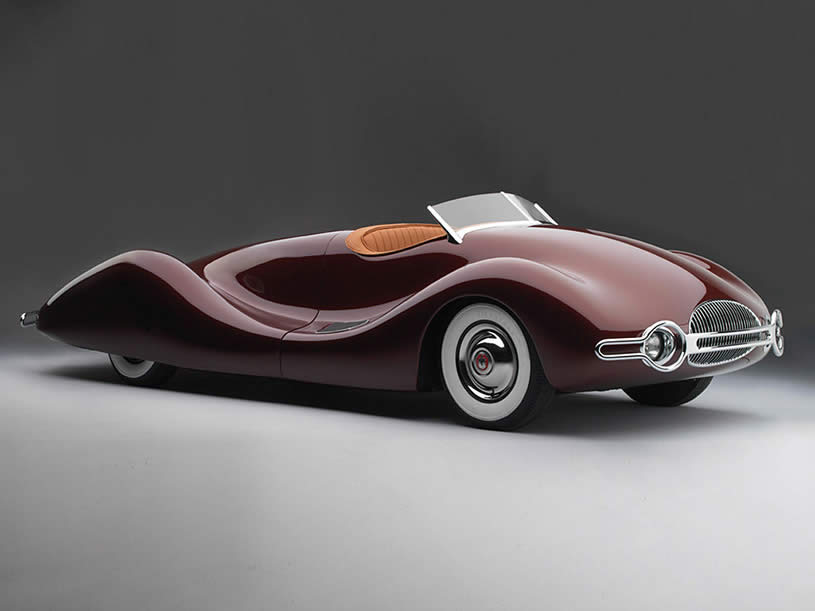 Side View of 1948 Buick Streamliner