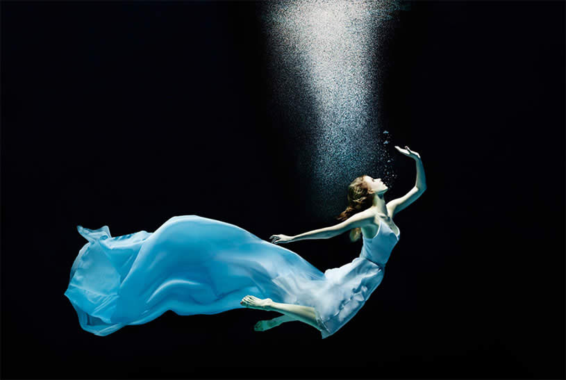 Swimming with a Dress by Human Wave by Henrik Sorensen
