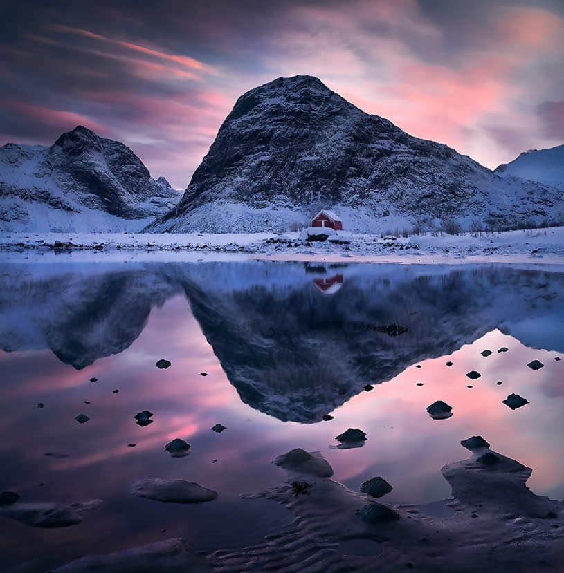 Reflection landscape from Norway by Max