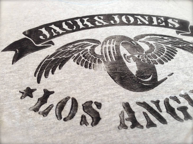 Jackson Los Angeles T-shirt by Con Freter