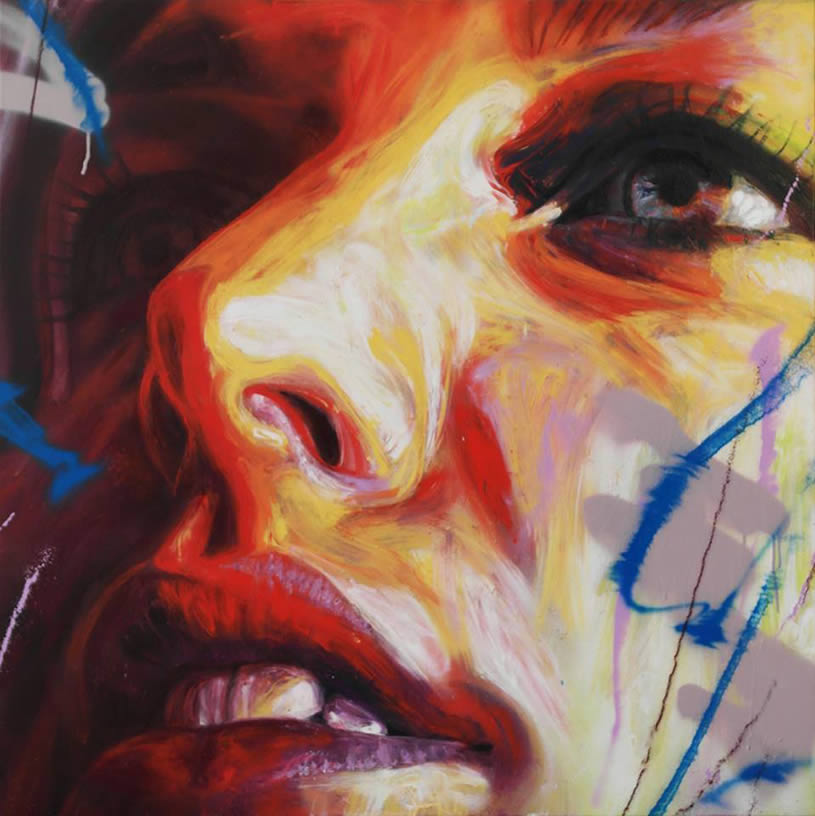Painting by David Walker