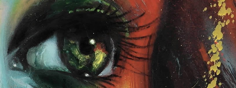 Realistic eye by David Walker